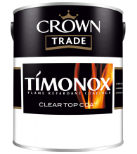 TIMONOX CLEAR TOPCOAT - Flame Retardant